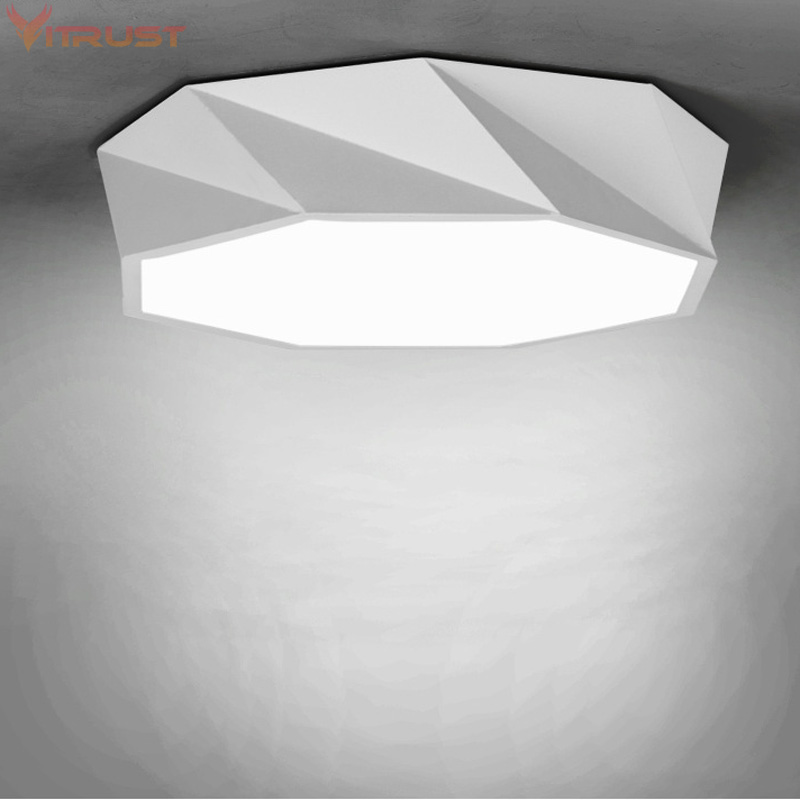 Modern bedroom living room ceiling lamp surface mounting balcony lighting fixture wrought iron ceiling lamps Acrylic Ceiling Lam тюль сетка garden выс 290см цветочный рисунок с сиреневой каймой