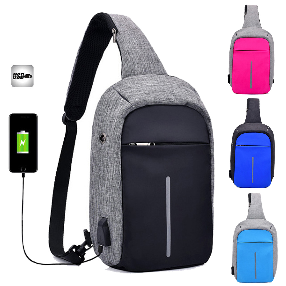 Sports USB Interface Nylon Table Laptop Notebook Shoulder Bags Case Messenger for Ipad Air 1 2 Ipad mini 1 2 3 4 for Men Women