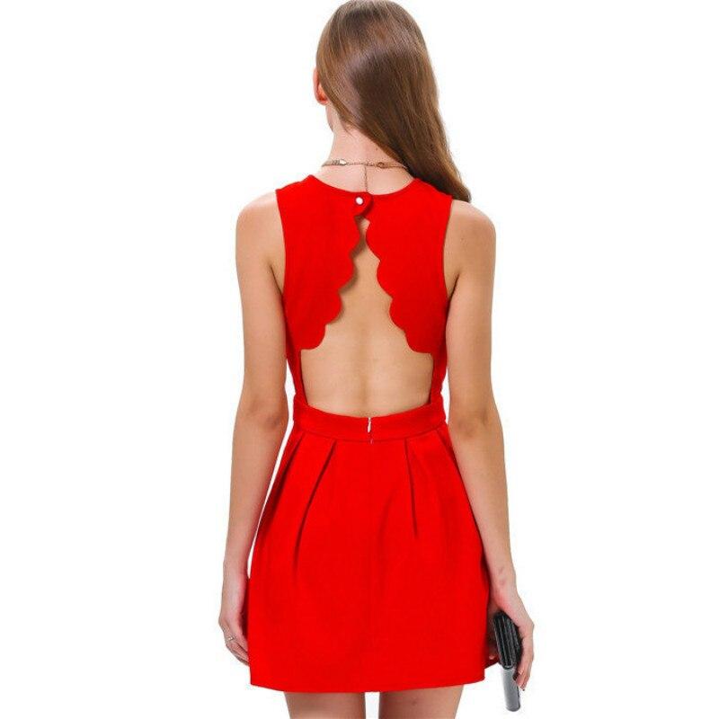 Hot Sale Dámské módní šaty Sweet Duté srdce Mini šaty Tankové šaty 9993