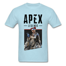 3D Printed Apex Legends Lifeline Summer Tops T Shirt Video Game Funny Round Neck All Cotton Tee-Shirts Mens Top T-shirts New недорго, оригинальная цена