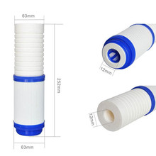 Double-Effect Composite Water Filter PPF Cotton + GAC Activated Carbon Cartridge RO System