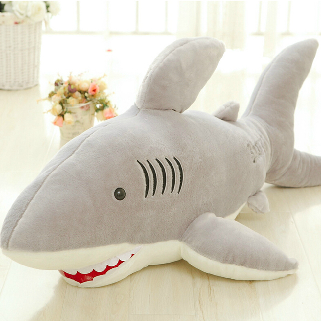 High Quality 70cm Shark Plush Toy Stuffed Pillow Doll Birthday Gift Kids Toy Baby Toy Nice Brinquedos for Children