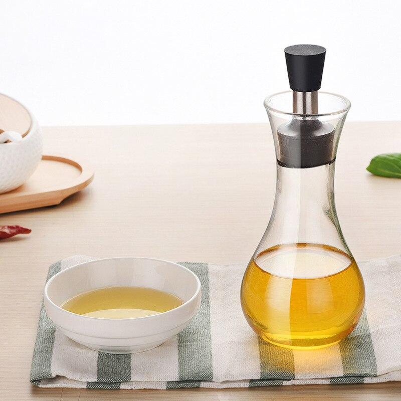 Olive Huile De Pulvérisation Verre De Contrôle des Fuites D'huile Bouilloire Sauce Bouteille Bouteilles Pour Huile Et Vinaigre Pots À Épices Cuisine Accessoires E