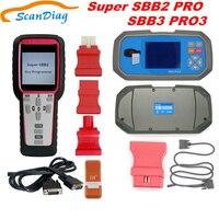 2019 SBB2 Key Programmer SBB3 PRO3 Handheld Scanner Powerful Function Than Old SBB/CK100 Supports Multi Brand Cars SBB2 Super