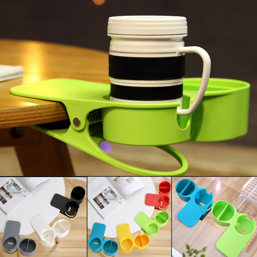 Creative Multi Purpose Drink Cup Coffee Glass Stand Bracket Table