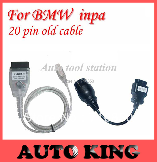 20pin obd cable as a gift ! FT232RL chip For- NPA K+CAN K+ DCAN USB diagnostic Interface Coder Scanner Reader Free Shipping