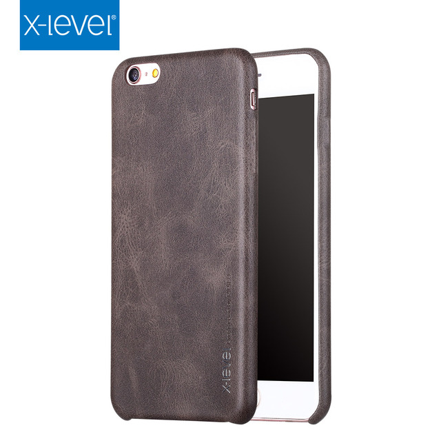 pretty nice 565d1 a82dd US $9.75 |Vintage Cover For Apple iPhone 8 Case Leather Slim Protective  Back Cover iPhone8 Case For Apple iPhone 8 Plus Case Luxury 8Plus-in Fitted  ...