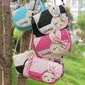 Niños de la manera Bolsas de Las Niñas Pequeñas Bolsas Satchel Shoulder Bags Niños Bolso de Bebé Bolsas De Mensajero 0102