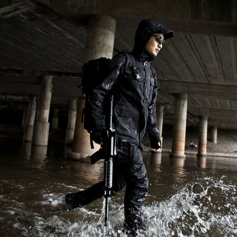 Mannen Tactische Jas Nieuwe 2018 Lente Herfst US Army M65 Militaire Veld Jas Trenchcoats Hoodie Casaco Masculino Windbreaker