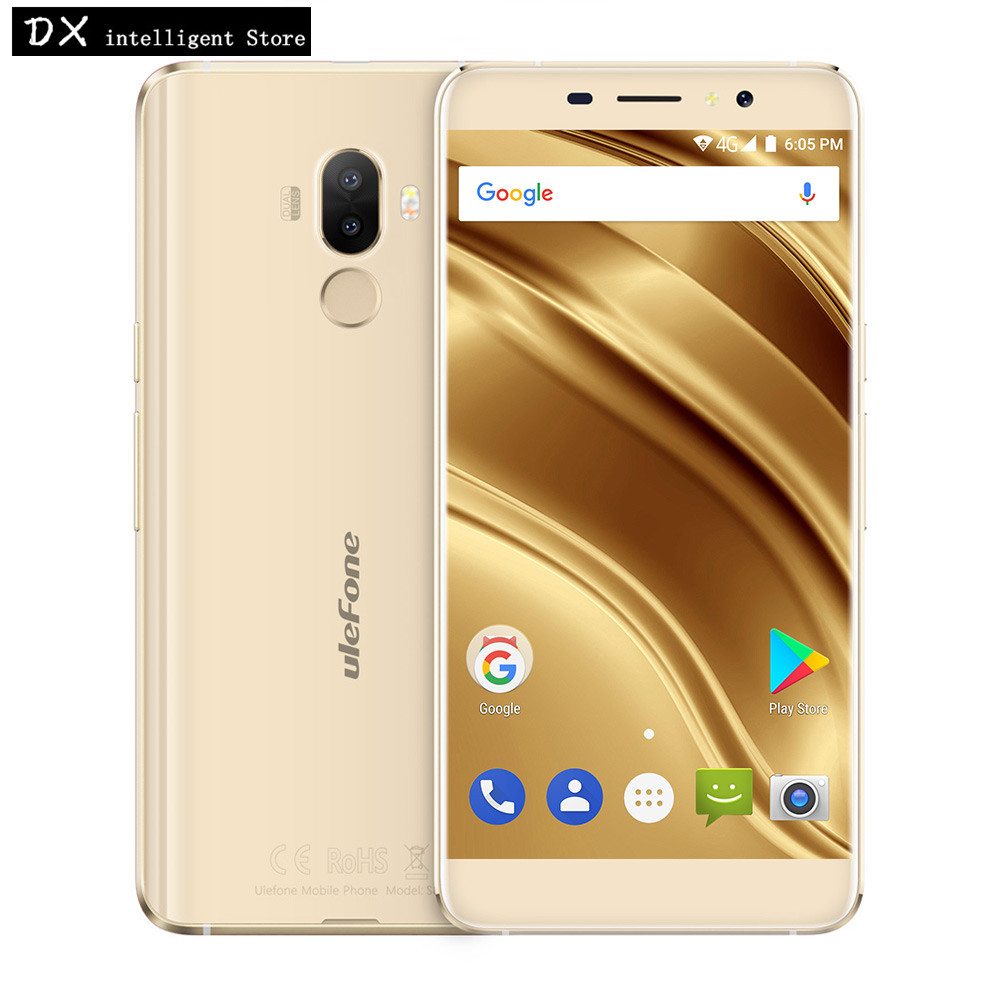 "bilder für Ulefone S8 Pro 4G Handy 5,3 ""HD 2 GB + 16 GB MTK6737 Quad Core Android 7.0 13MP Dual Echt Kameras OTG Fingerprint SmartPhone"