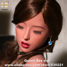 NEW WMDOLL Top Quality Sex Doll Heads For Silicone Real Doll Big Ass Japanese Love Dolls Head With Teeth Oral Sexy Toy
