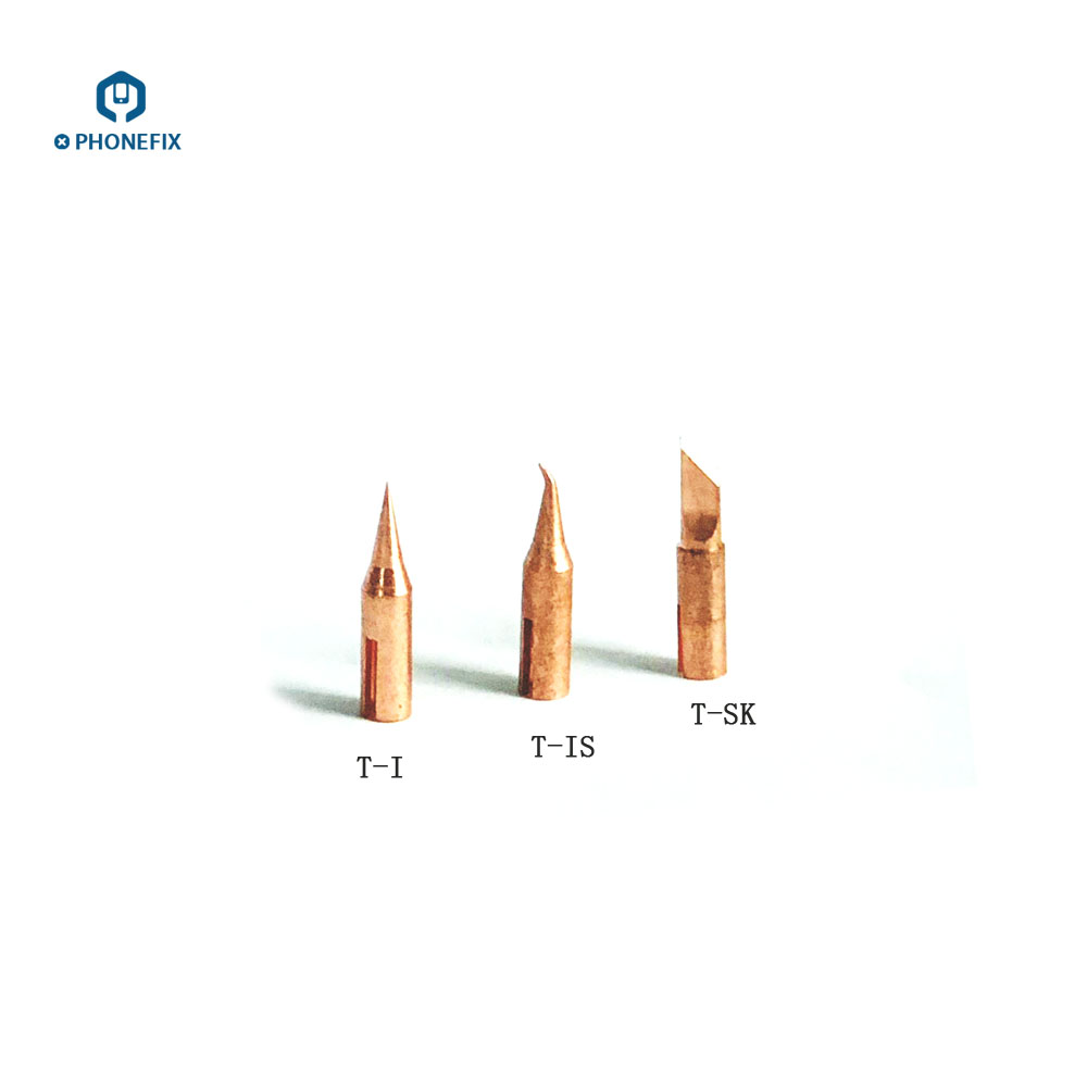 Image 2 - PHONEFIX JBC T210 Soldering Iron Tip T SK T I T IS Replaceable Small Welding Iron Tips for Mobile Phone PCB Soldering Repair-in Welding Tips from Tools