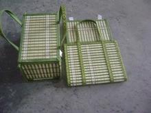Folding basket dumplings cake egg storage basket packaging box crab basket 30 20