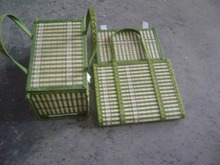 Складывающиеся корзины пельмени торт яйцо корзина хранения упаковочной коробки краб корзина 30*20 *