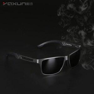 Солнцезащитные очки YAXUN, классические поляризационные очки для мужчин и женщин, защита от УФ-лучей 400