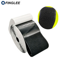 5 Meters 10cm Width Black Loop Self Adhesive Fastener Strong Tape Hook And Loop Adesivo Sugru