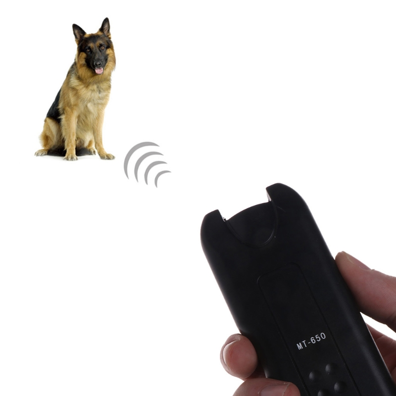 Ultrasonic Dog Repeller Chaser Stop Bark Trainer Anti Barking Electronic Device