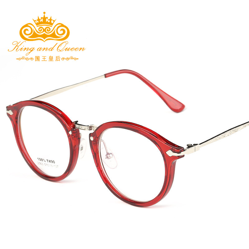 Fashion Eyeglasses For Women Red Color 2016 Latest Reading