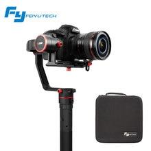 Feiyutech A2000 3 Axis Gimbal DSLR Cameras Stabilizer Single Dual handheld Grip for Canon 5D SONY Panasonic estabilizador