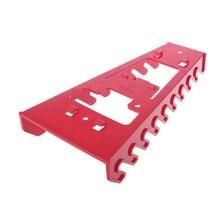 Гаечный ключ органайзер сортировщик держатель лоток гнездо стеллаж для хранения пластмассовый инструмент