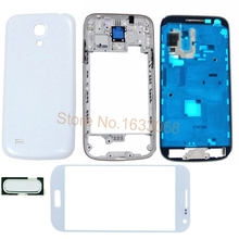 Первоначально Новая Полный Жилищно Передняя Рамка Ближний Рамка Крышка для Samsung Galaxy S4 Mini i9190 i9195 Полный Дело Корпус Тела отслеживания