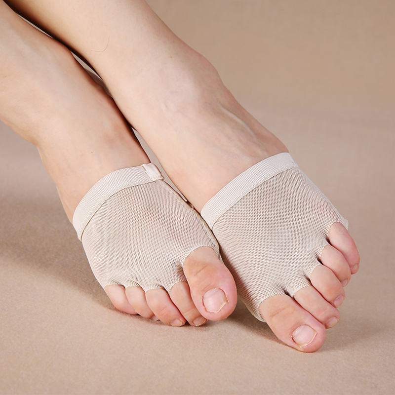 Dance Shoes Adult Lyrical Half Sole Contemporary Lyrical Shoes Belly Toe Pads Half Sole Ballet Shoes