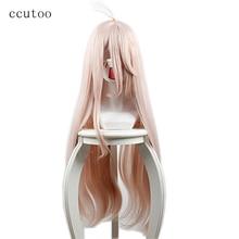 """Ccutoo 80 см/3"""" Длинные прямые стиле Синтетические волосы Danganronpa V3: убийство Harmony ирума Miu Косплэй парик"""