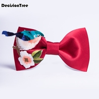 2019 men's 100% cotton classic polka dot bowtie for man wedding business bow ties corabatas butterfly