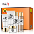 HANKEY miracle horse oil anti wrinkle cream set face care acne scar removal cream skin care acne treatment stretch marks  5pcs