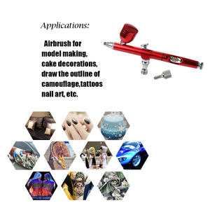 Image 3 - 1PC Mini Spray Pump Pen Set Air Compressor Kit for Art Painting Tattoo Craft Cake Spray Model Beautiful Airbrush Kit