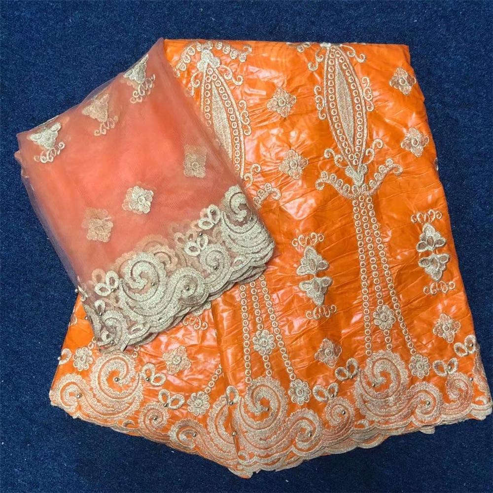 Tissu africain bazin riche tissu bazin brode getzner guinée brocart noir dentelle tissu pour robe de haute qualité 7 yard/lotLYB93 -in Tissu from Maison & Animalerie    3