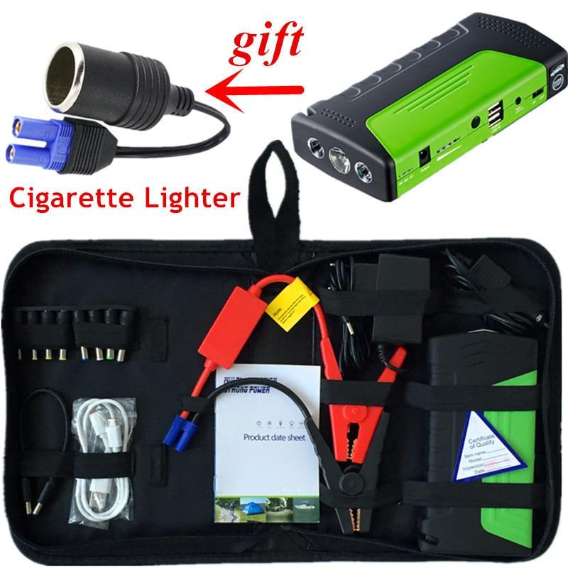 Mini dispositif de démarrage d'urgence 12V 600A Portable voiture démarreur batterie externe démarrage rapide chargeur de voiture pour voiture