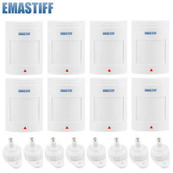 free shipping!8pcs/lot Wired PIR Motion Sensor Alarm Detector PIR Infrared Motion Detector Sensor for GSM Alarm & Home Security - DISCOUNT ITEM  5% OFF All Category