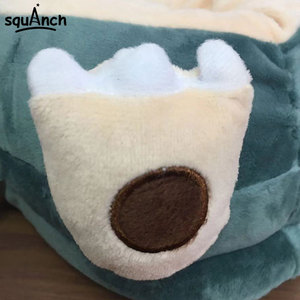 Image 5 - Anime Snorlax Slippers Animal Party Cartoon Character Women Men Unisex Adult 35 42 Size Winter Kawaii Shoes Wholesale