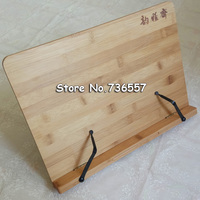 Bamboo book stand reading bamboo Large Medium Small rack zitie rack bookend reading frame new arrival