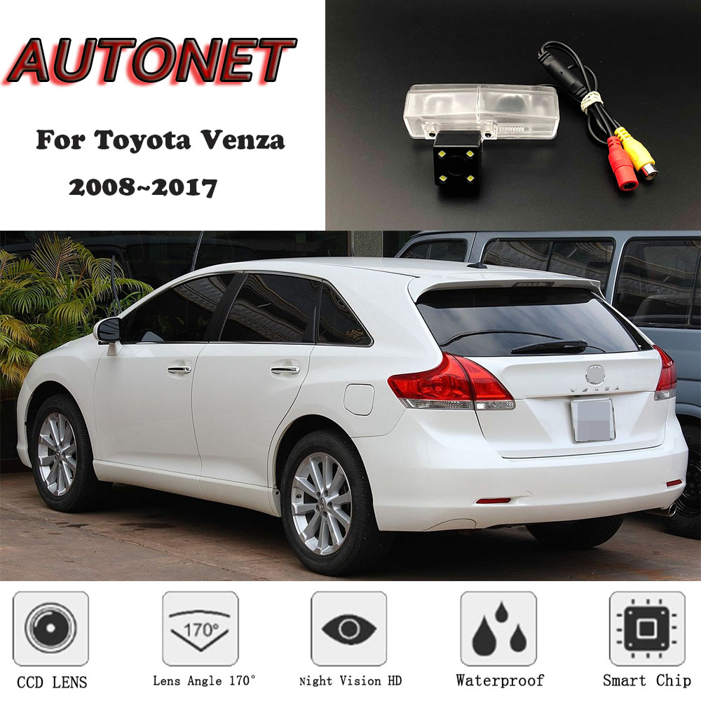 AUTONET Backup Rear View Camera For Toyota Venza 2008~2017 Night Vision/license Plate Camera/parking Camera