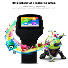 MTK6580 Android APP Smart Watch Support Nano SIM card GSM WCDMA Bluetooth Sync for Android 5.1 or above Phone