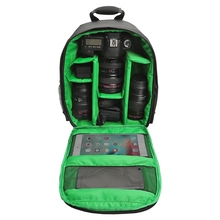 Multi-functional Camera Backpack Bag Waterproof Outdoor Digital DSLR SLR Camera Photo Video Bag Case For Nikon Canon Sony стоимость