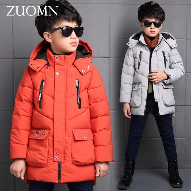 New Arrive Children's Jacket Child Winter Coat Boys Thick Enfant Garcon Winterjas Jongen Parkas Down Coat Kids Outerwear GH231