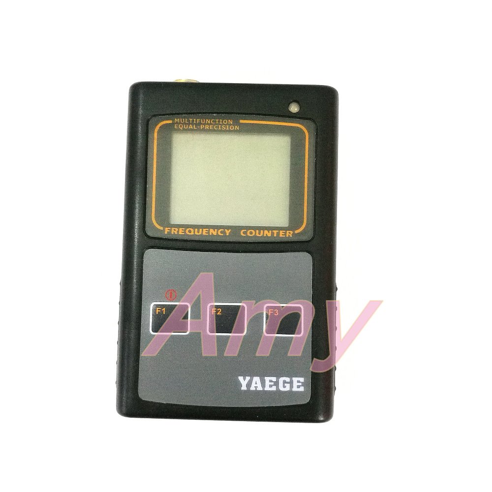 YAEGEFC 1 dual channel temperature compensation benchmark handheld frequency meter is easy to operate, reliable.-in Reactive Power Controllers from Home Improvement    2