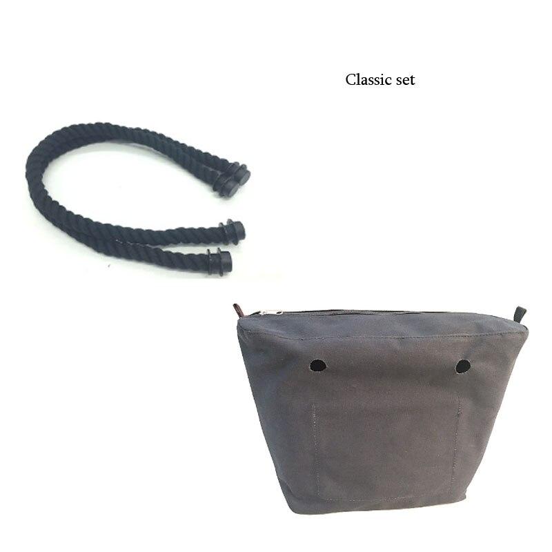 1 par 49 cm o 65 cm 70 cm 75 cm manija de cuerda natural y negra - Bolsos - foto 6