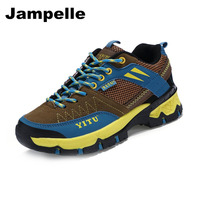 Jampelle Outdoor Climbing Mountaineering Boots Anti Slip Wear Resistant Travel Running Shoes For Women