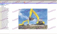 Robex 2015 Electronic Spare Parts Catalog Cranes Excavators For Hyundai