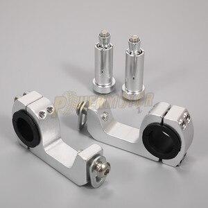 Image 4 - PowerMotor support de garde mains pour moto, support de montage pour poignée pour modernisation de 22/28mm, livraison gratuite