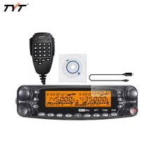 Tyt th-7800 carro del coche móvil de doble banda vhf uhf de radio transmisor-receptor y cable tyt th-7800