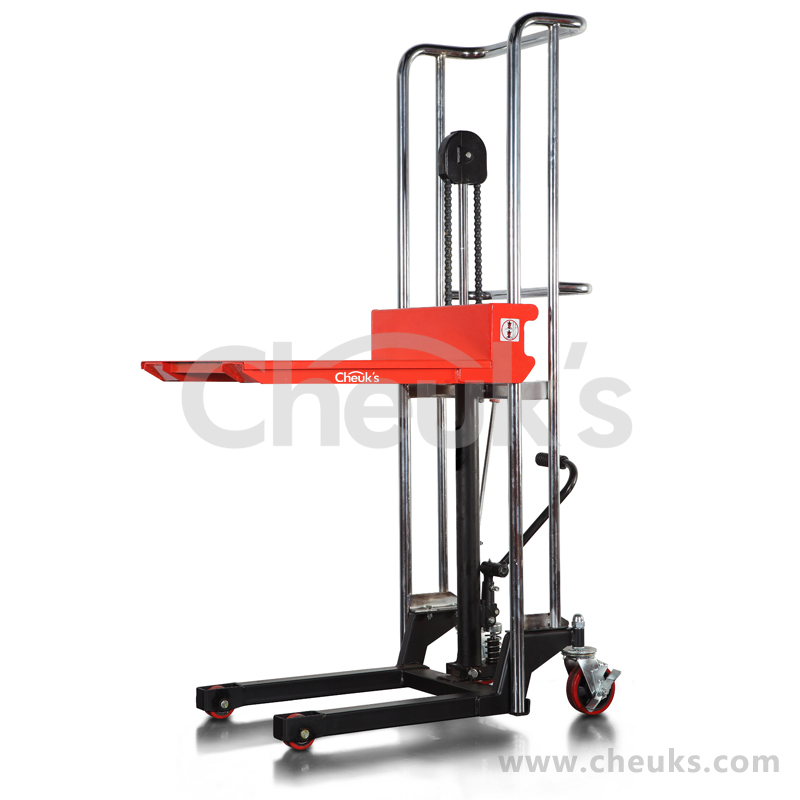 Hydraulic Pallet Lifters : Kg pallet stacker hydraulic manual hand