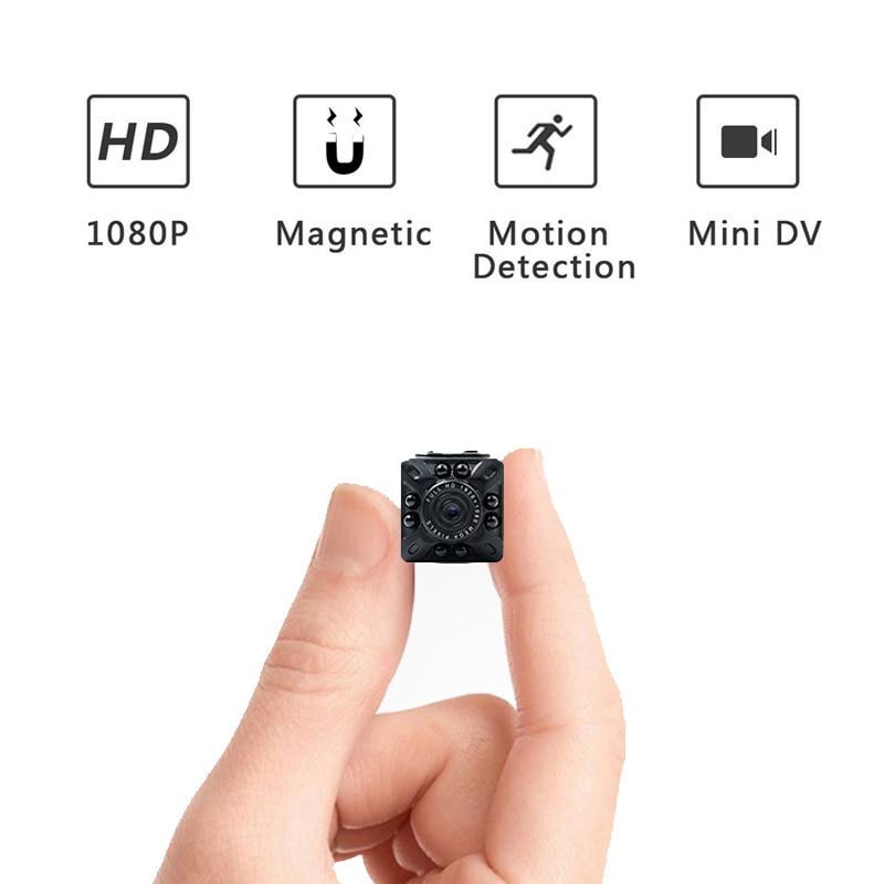 SQ10 Mini FHD 1080 p Caméra Active DV Détection de Mouvement de Vision Nocturne Caméra sport vidéo caméra
