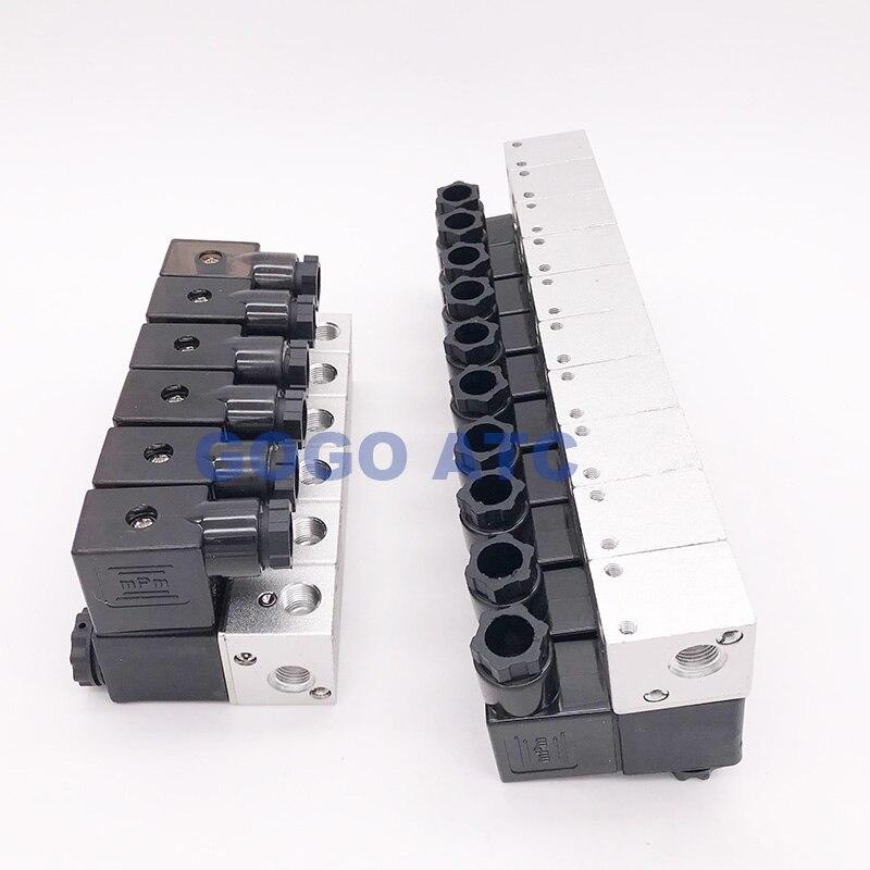 Aexit AC 110V Valves 4.5VA Pneumatic Control Air Solenoid Solenoid Valves Valve Coil