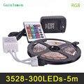 Светодиодная лента RGB 3528SMD  60 светодиодов/м  5 м  12 в пост. Тока  блок питания светодиодной ленты  2 А