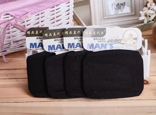 2pc Mouth Mask Cotton PM2.5 Anti Haze Black Dust Mask Nose Filter Windproof Face Muffle Bacteria Flu Fabric Cloth Respirator M40